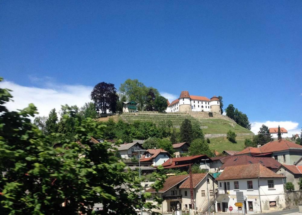 Zugfahrt nach Ljubljana