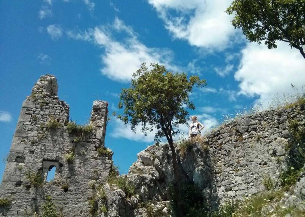 Ruinen von Duino in Italien