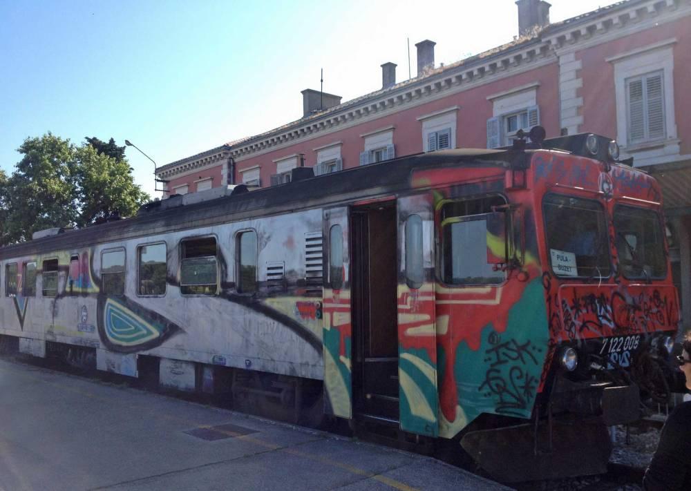 Zug nach Rijeka