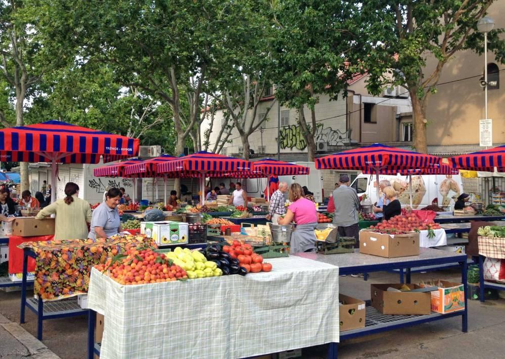 Markt von Split