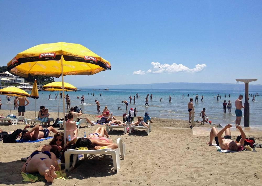 Strand von Split