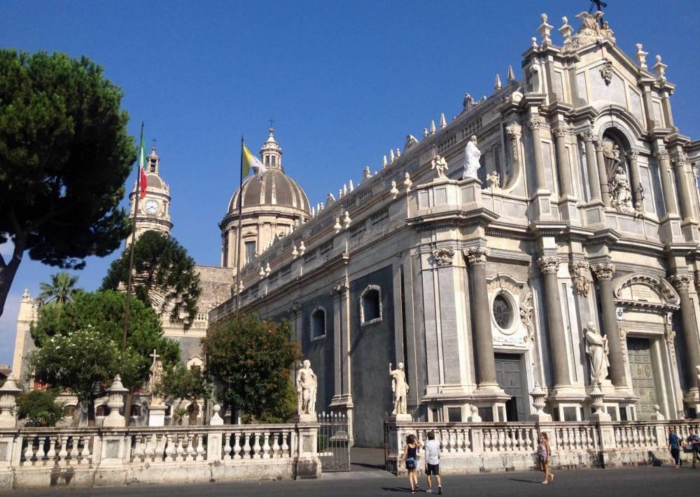 Innenstadt von Catania auf Sizilien