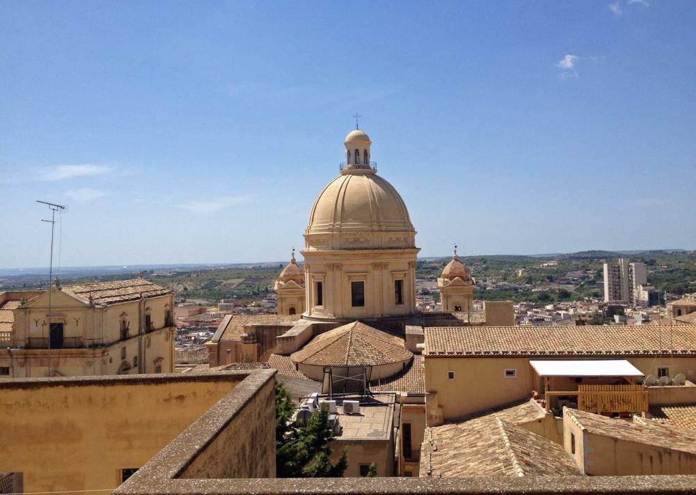 Altstadt von Noto auf Sizilien
