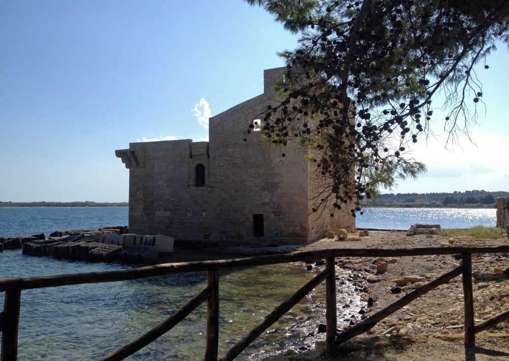 Torre Seva im Reservat Vendicari
