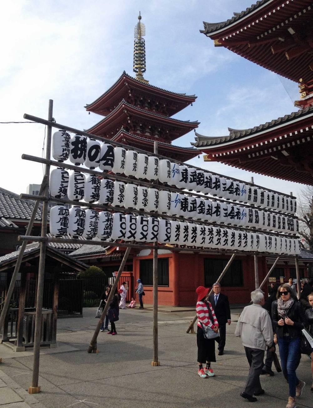 Asakusa-Schrein in Tokyo