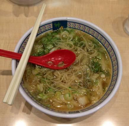 Ramen ist ein typisches japanisches Essen