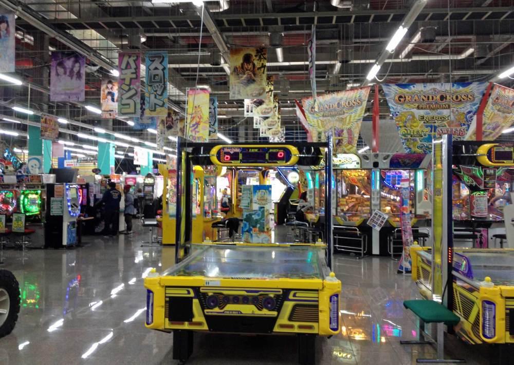 Spielhalle auf Odaiba