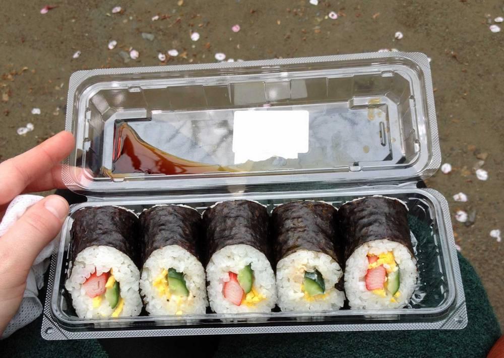 Sushi-Box in Japan