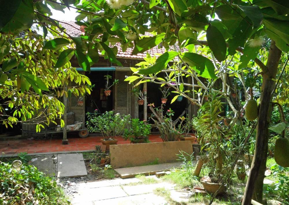Farmhaus im Mekong-Delta
