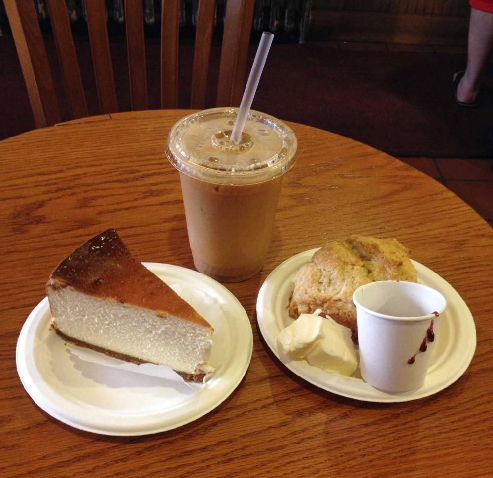 New York Food: Cheesecakes und Scones