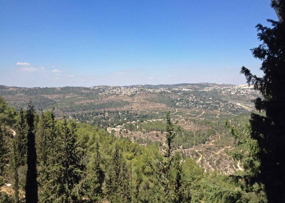 Umgebung der Gedenkstätte Yad Vashem