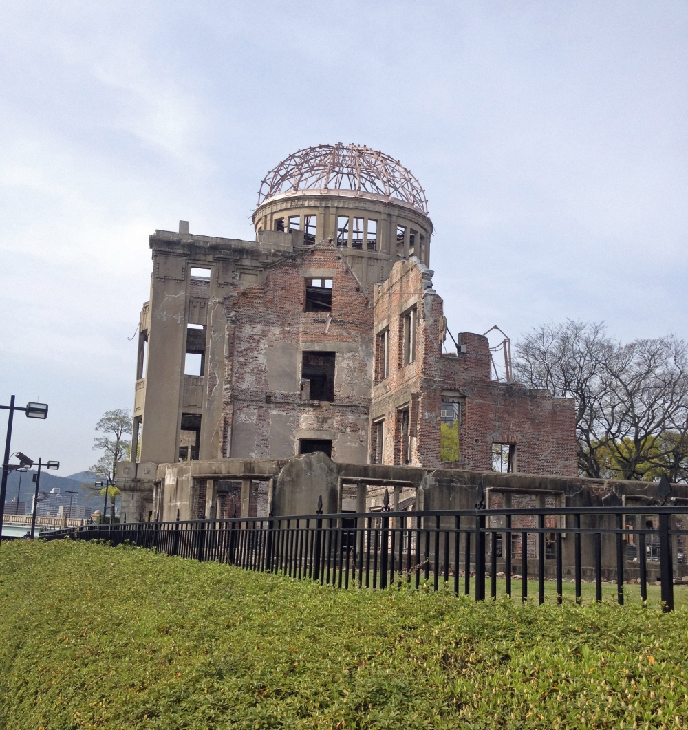 Atombombendom in Hiroshima, Japan
