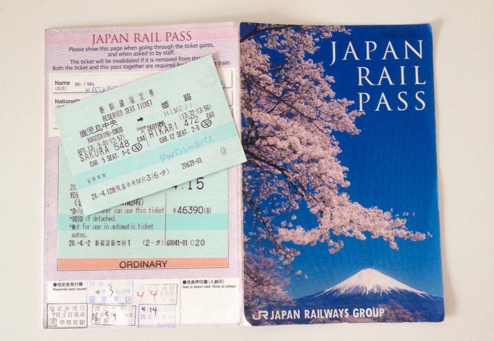 Japan Rail Pass und Reservierung