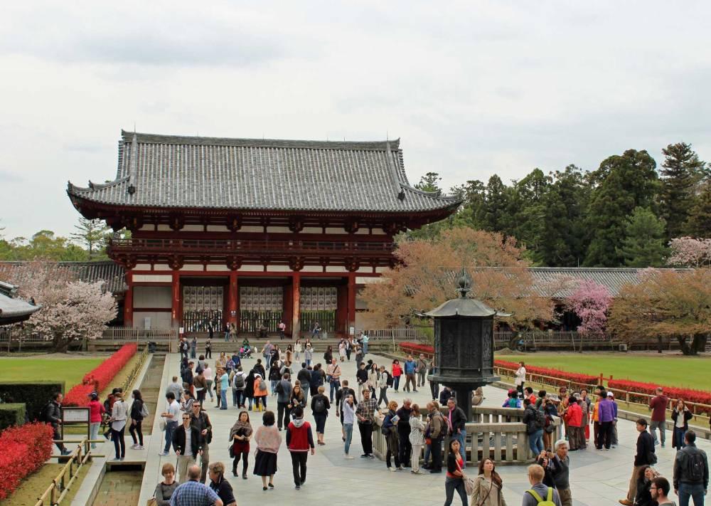 Tōdai-ji-Tempel in Nara