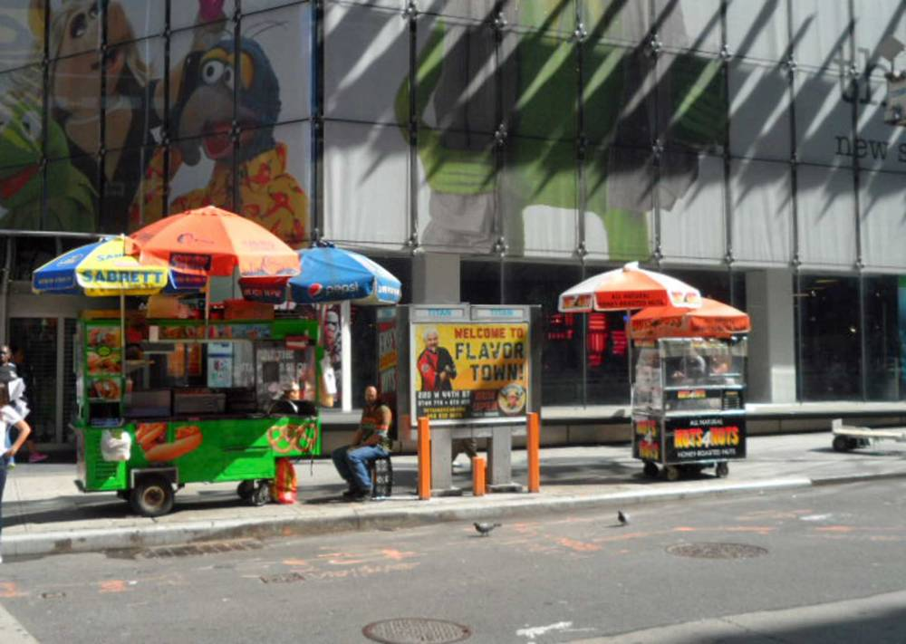 Essen in New York an Food Trucks