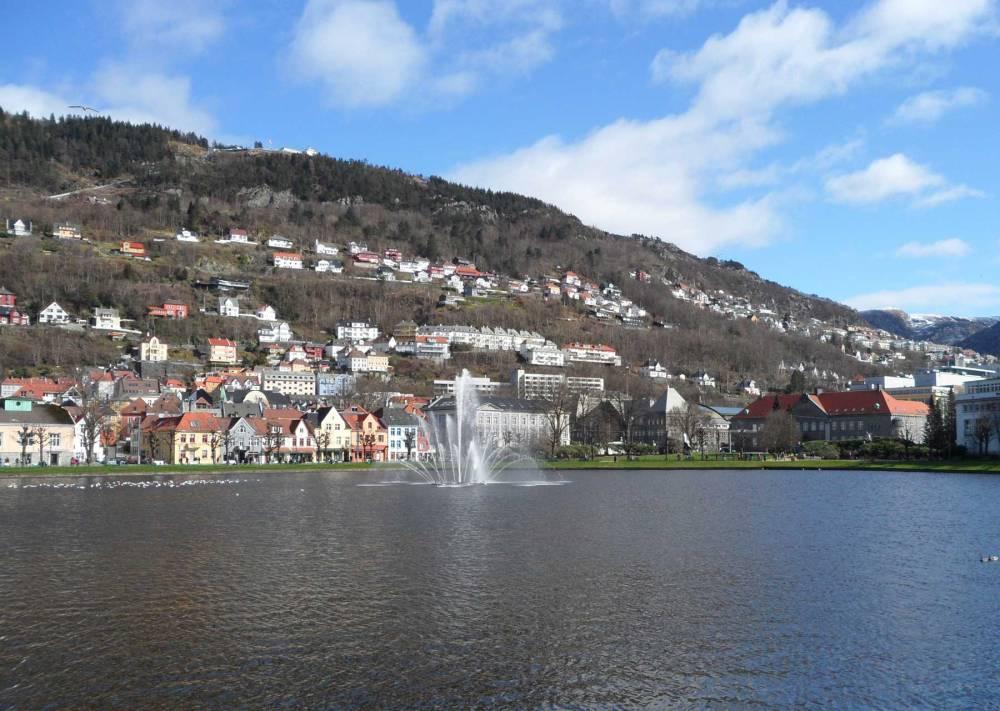 Der Hausberg von Bergen, der Floyen