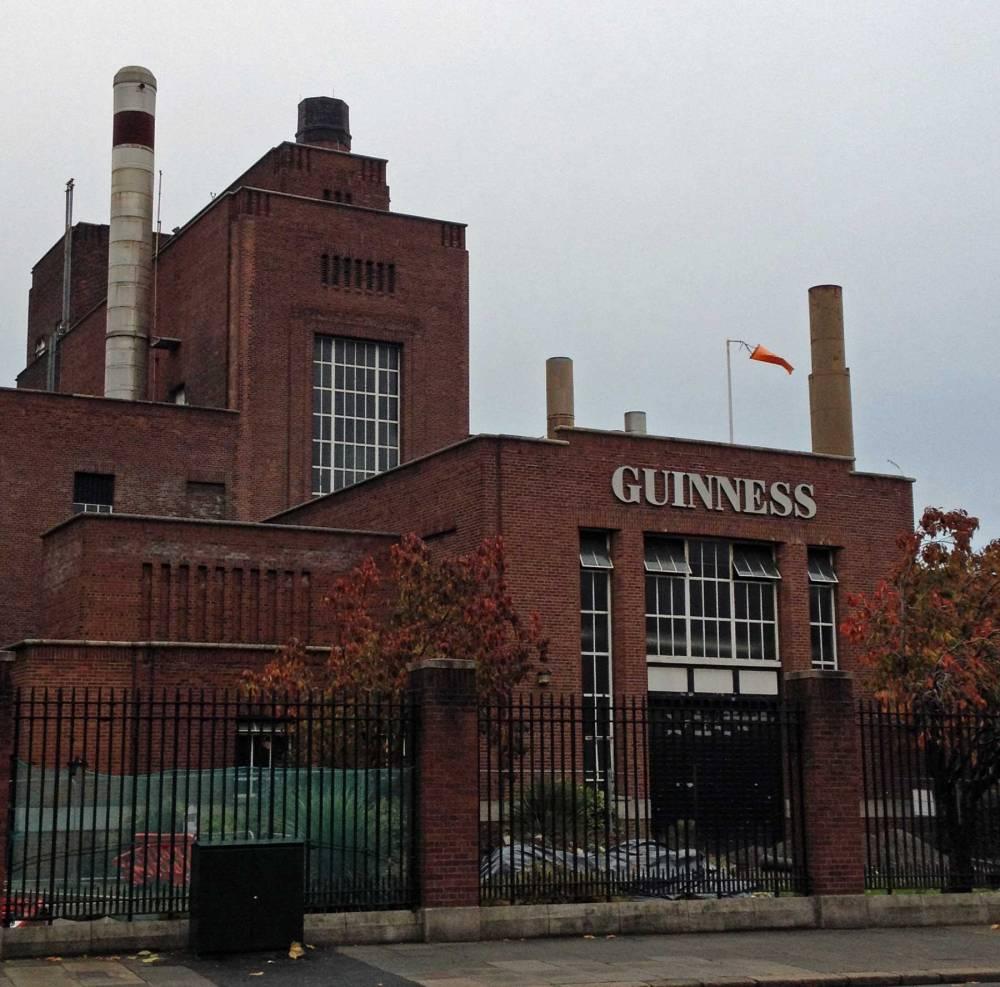 Guinnes-Brauerei in Dublin