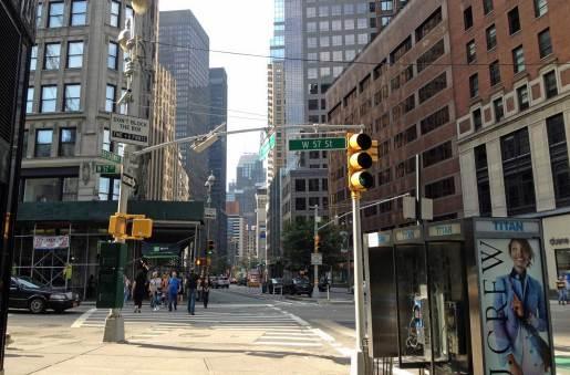 Kann eine New Yorker Straße noch typischer aussehen?