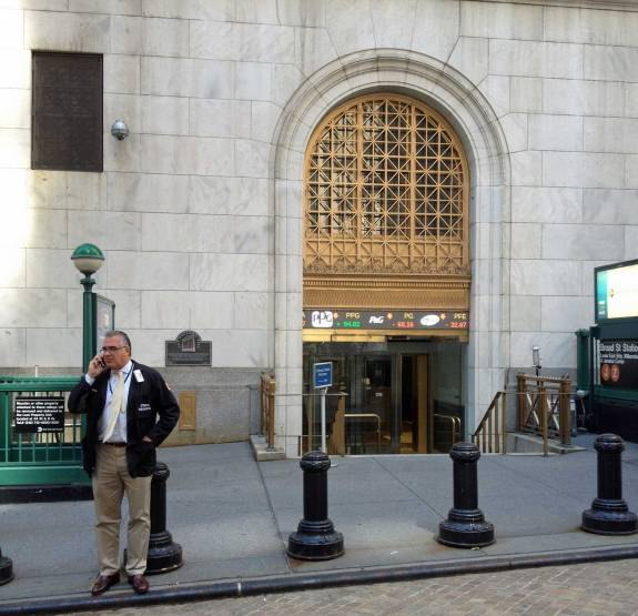 1 Woche New York - die Stock Exchange sollte auf jeden Fall auf dem Programm stehen.