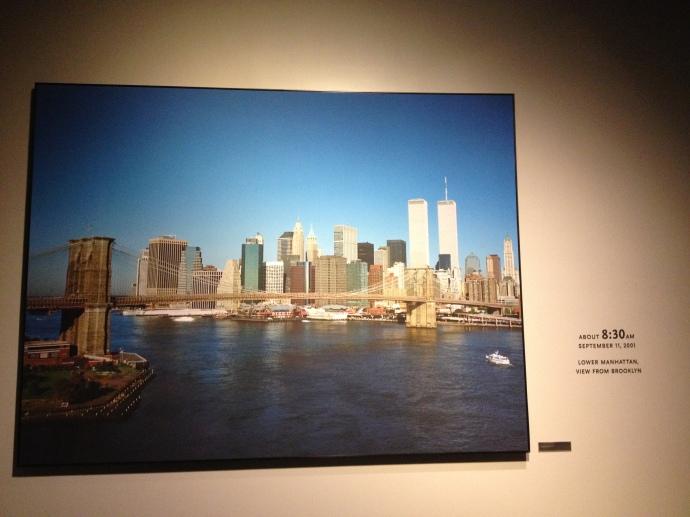 Kurz bevor die Welt aus den Fugen geriet: New York am Morgen des 11. September 2001.