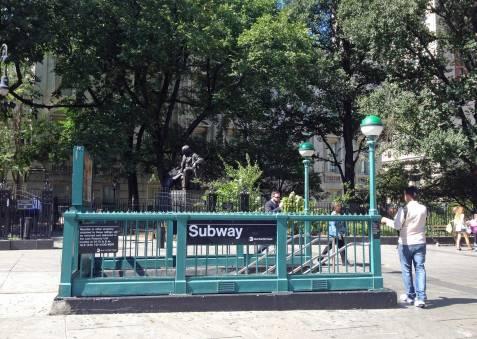Mit der 7 Day MetroCard kannst du so oft und so viel Subway fahren wie du möchtest.