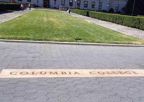 Im September ist auf dem Campus allerdings noch nicht so viel los.