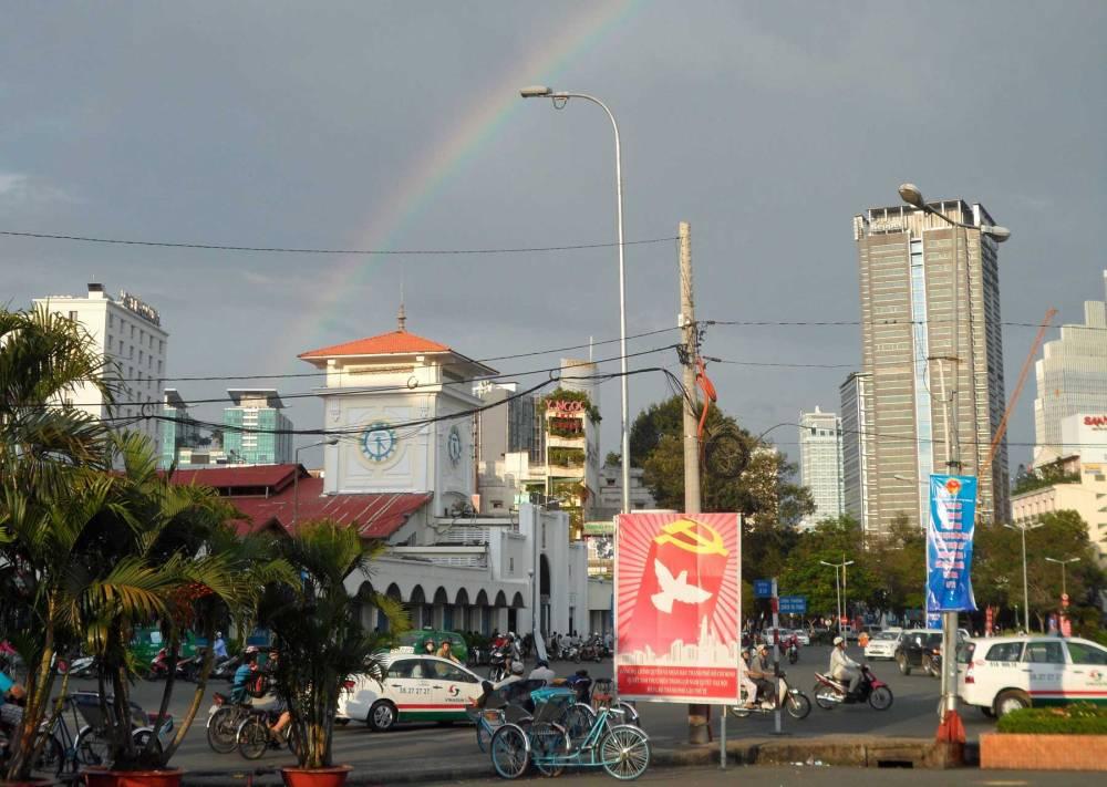 Ben Thanh Markt in Saigon