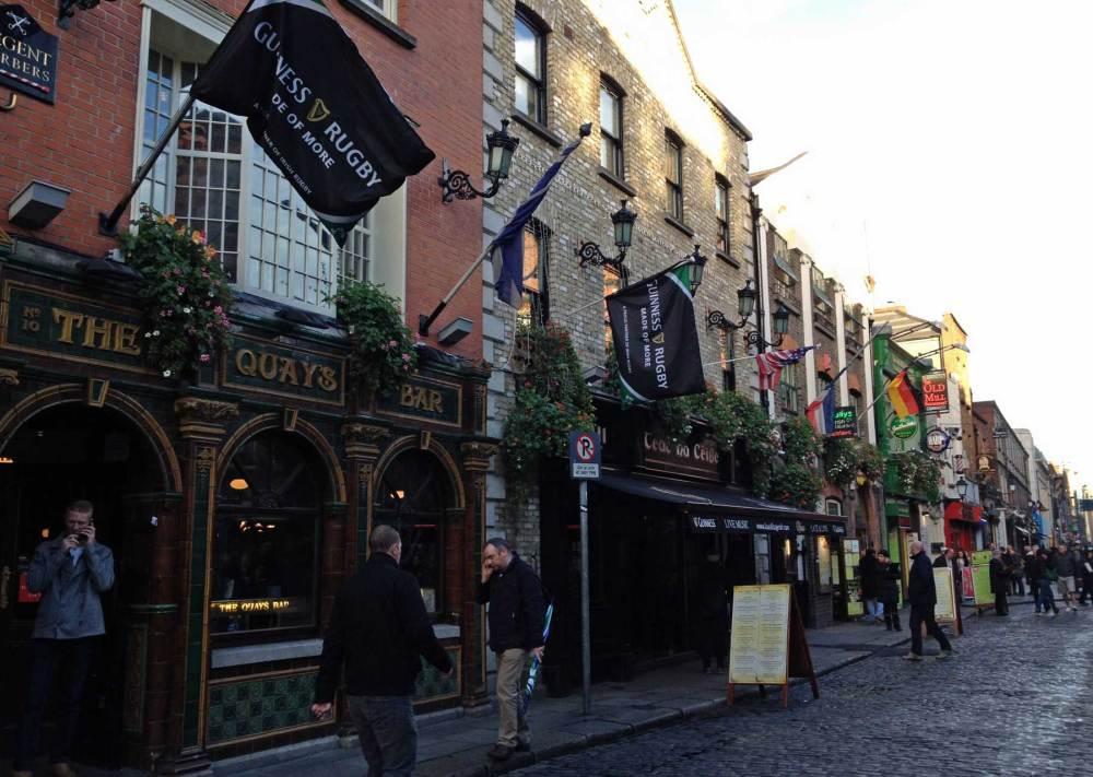 Zentrum von Dublin