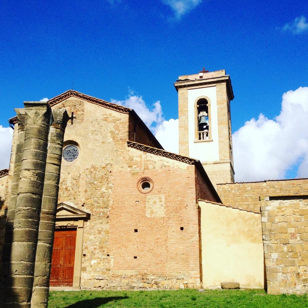 Kirche in Appiano in der Toskana