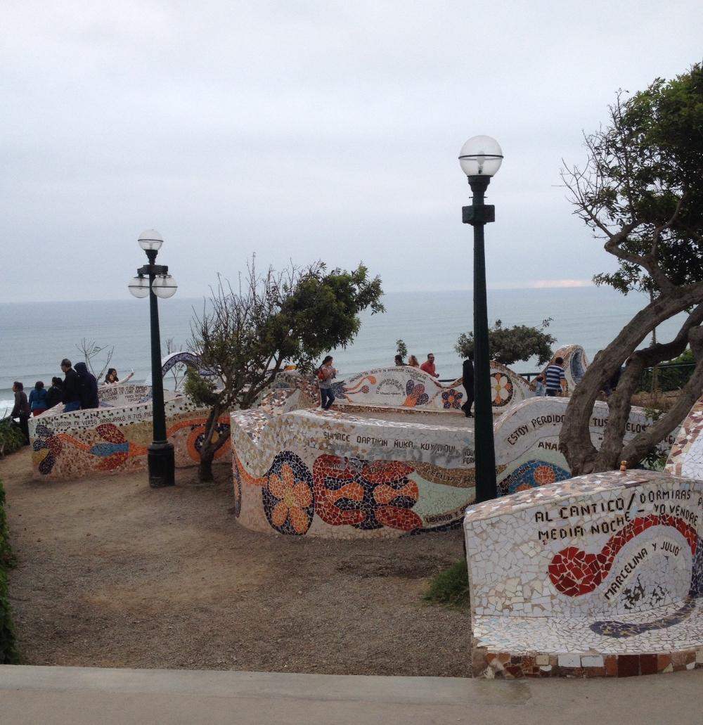 Parque del amor Miraflores Lima