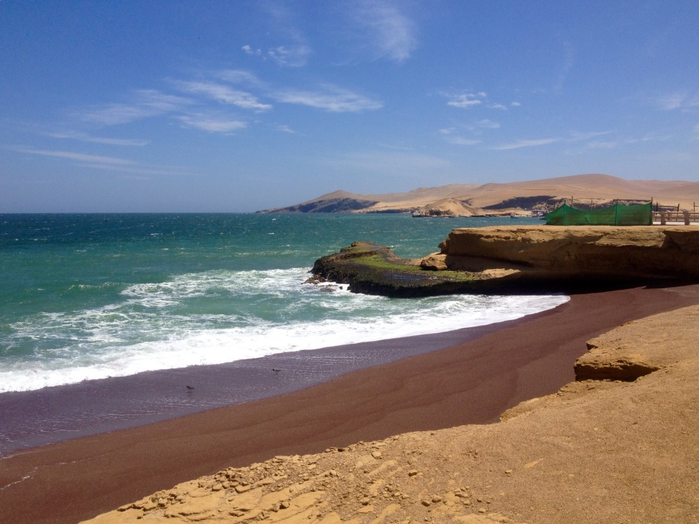 Küste bei Paracas
