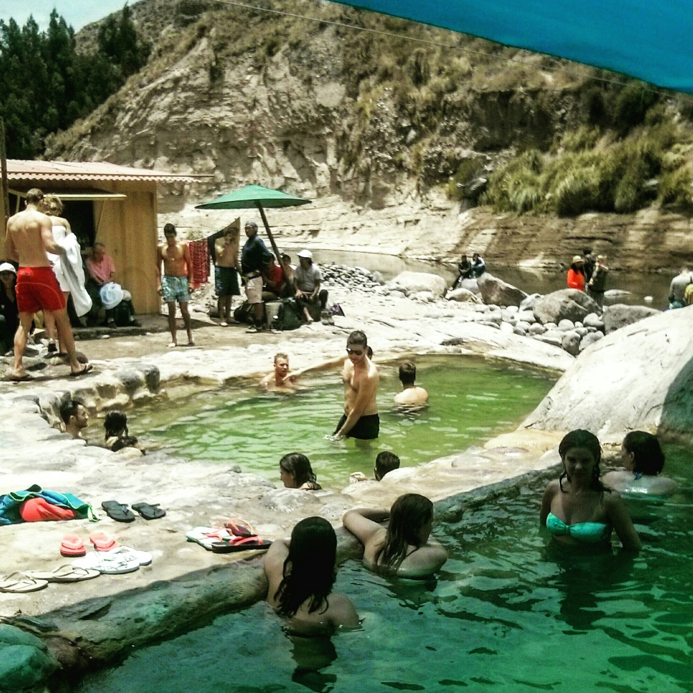 La Calera Hot Springs in Peru