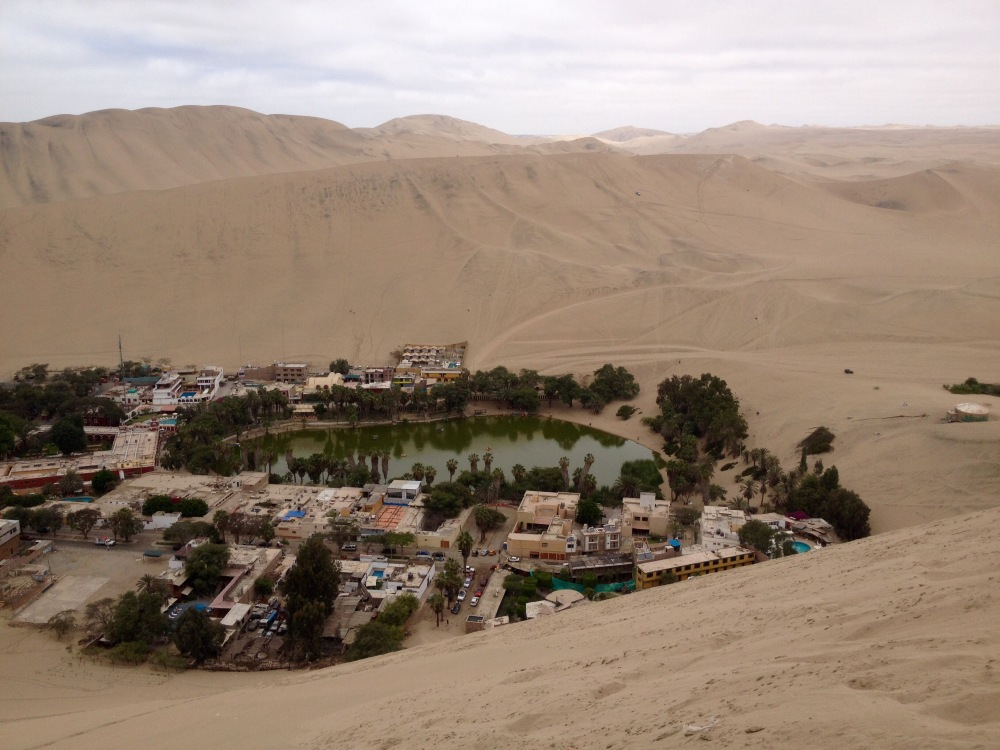 Oase Huacachina morgens