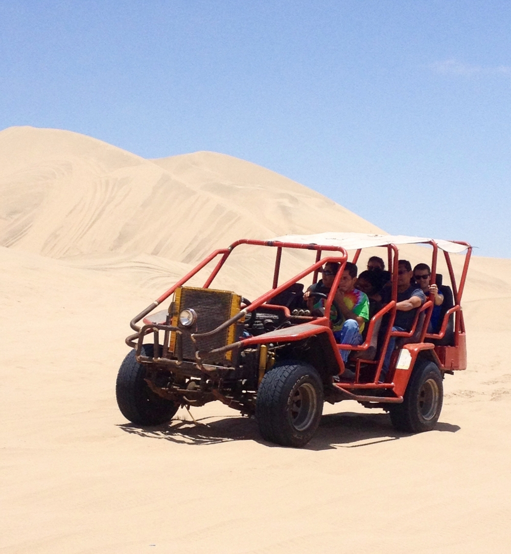 Sandbuggy-Tour in Peru