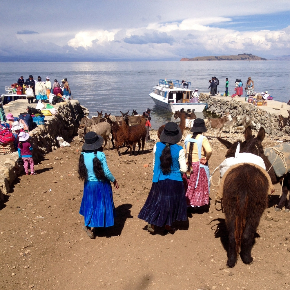 Isla del Sol in Bolivien