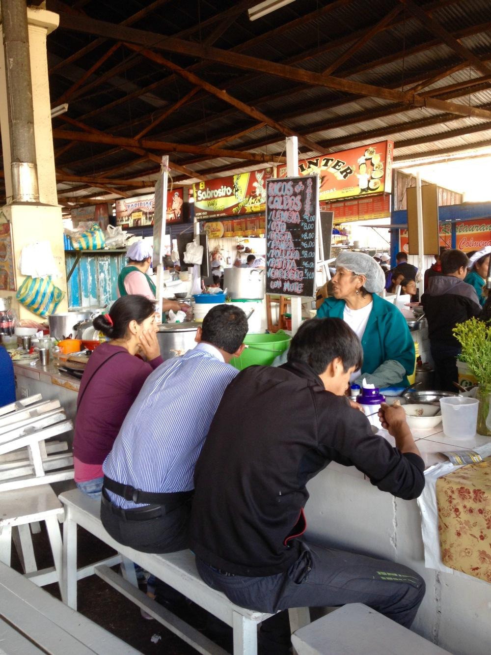 Markt von San Pedro in Cusco