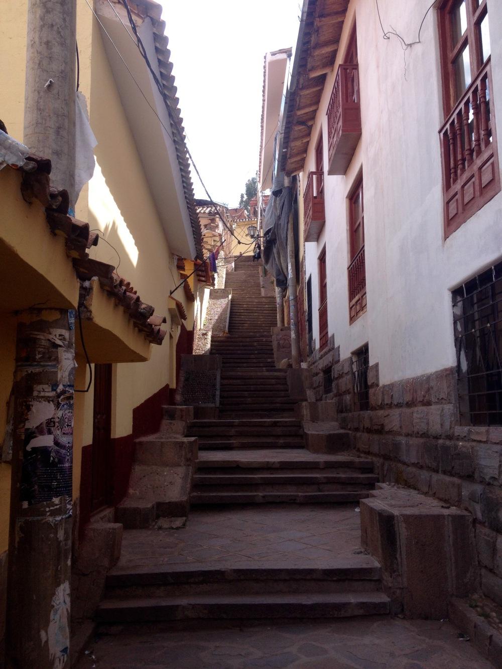 San Blas Künstlerviertel in Cusco