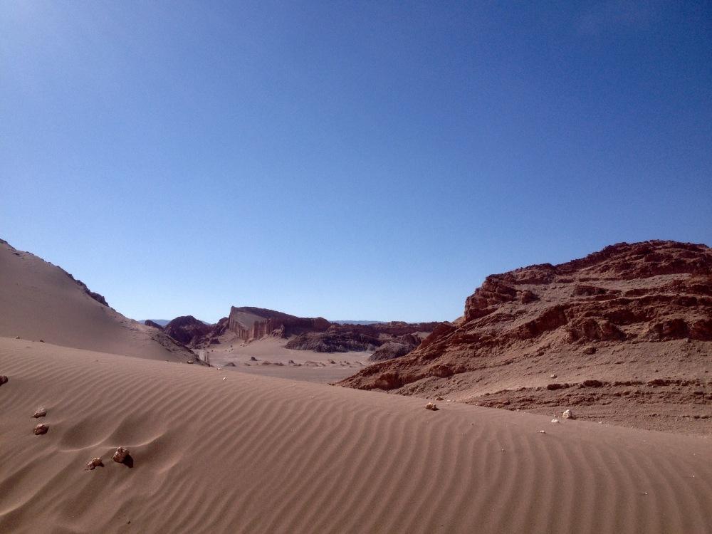 Dünen in der Atacama-Wüste