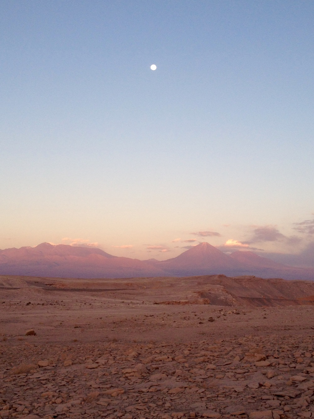 Vollmond in San Pedro de Atacama