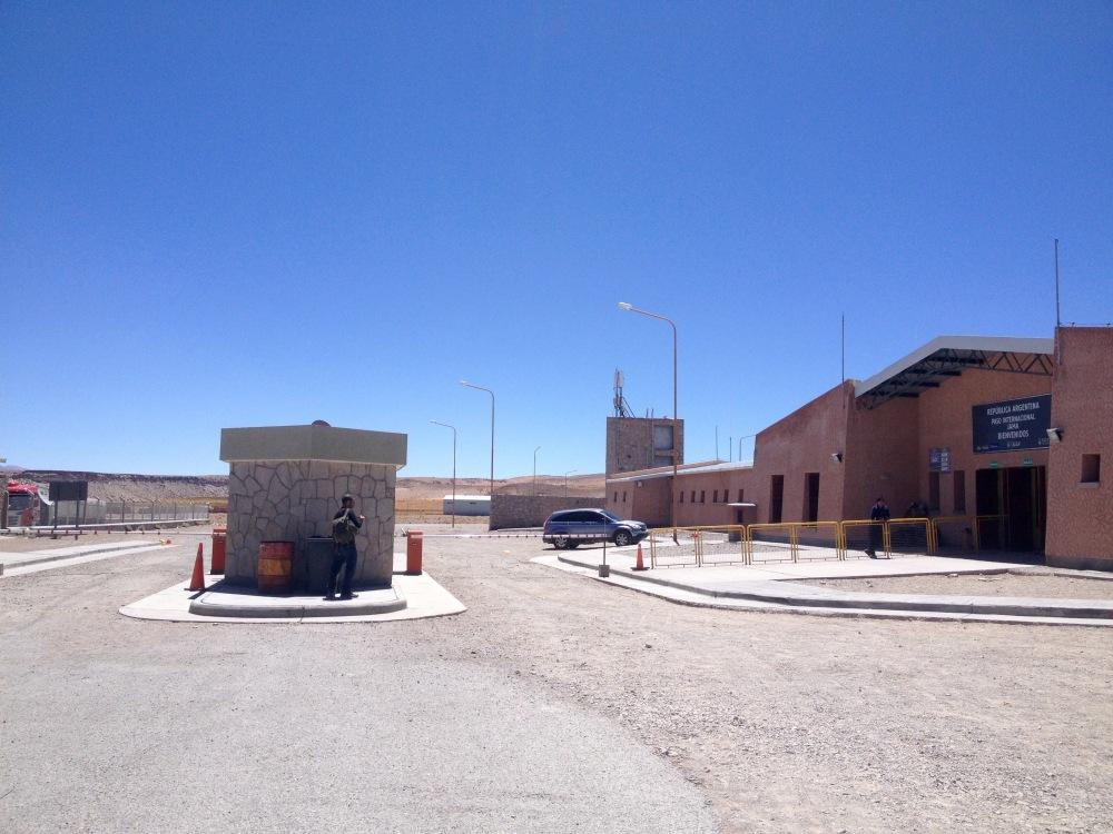 Der Paso Jama ist der Grenzübergang zwischen Chile und Argentinien