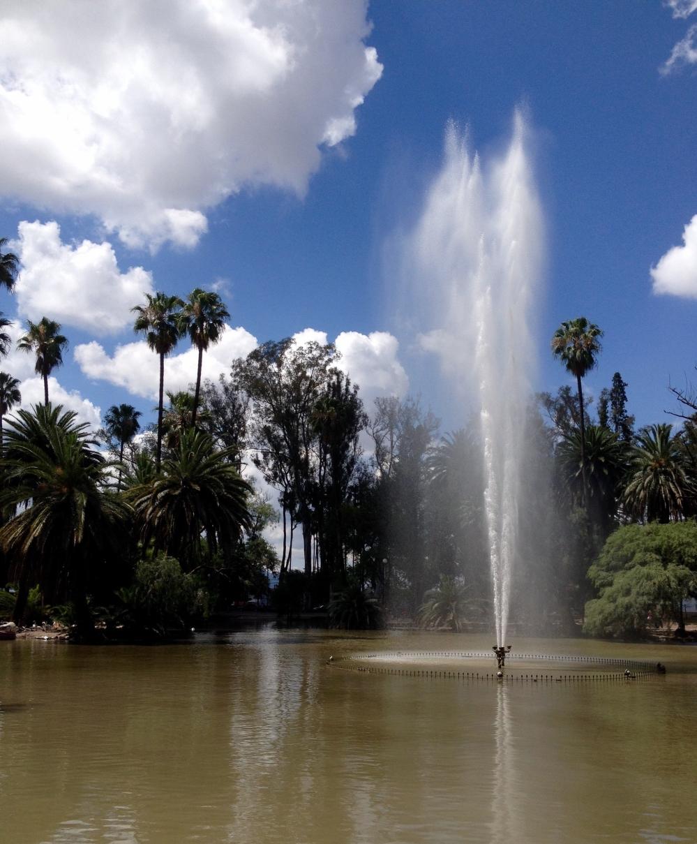 Springbrunnen in Salta in Argentinien