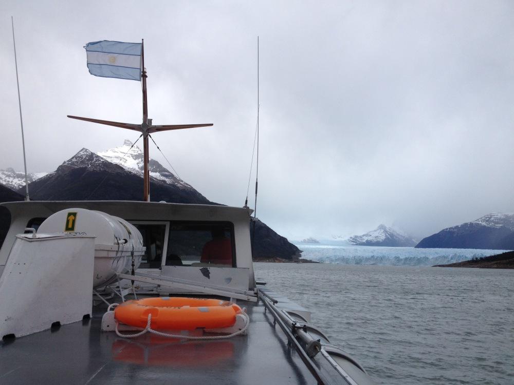 Boot zum Gletscher Perito Moreno