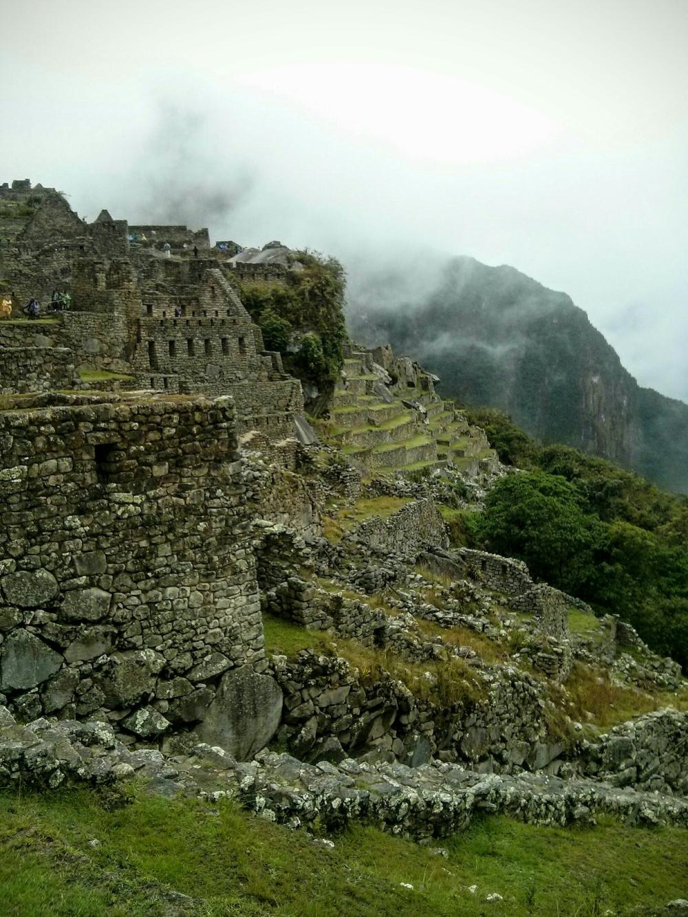 Die Ruinen von Machu Picchu