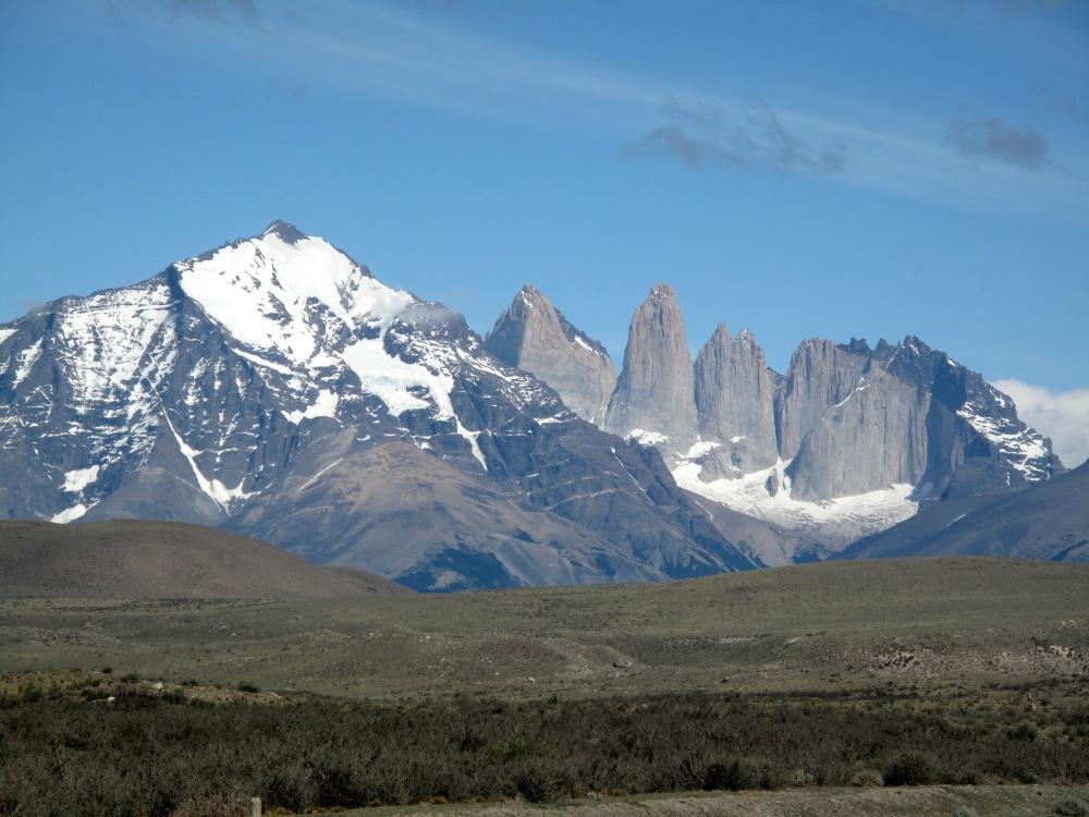Die Granitfelsen von Torres del Paine