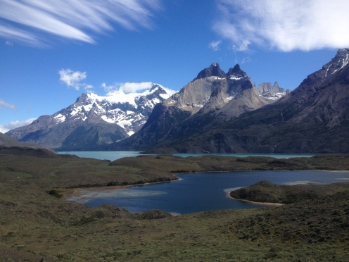 See Pehoe im Nationalpark Torres del Paine