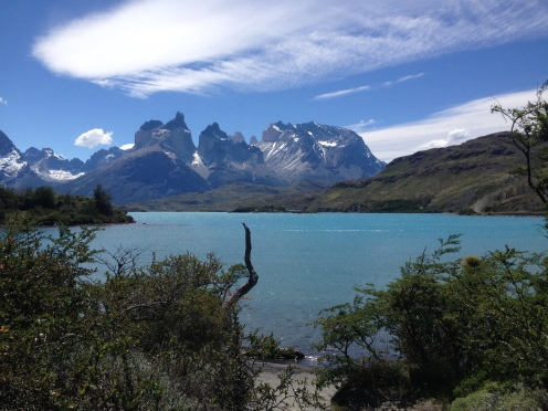 See im Nationalpark Torres del Paine