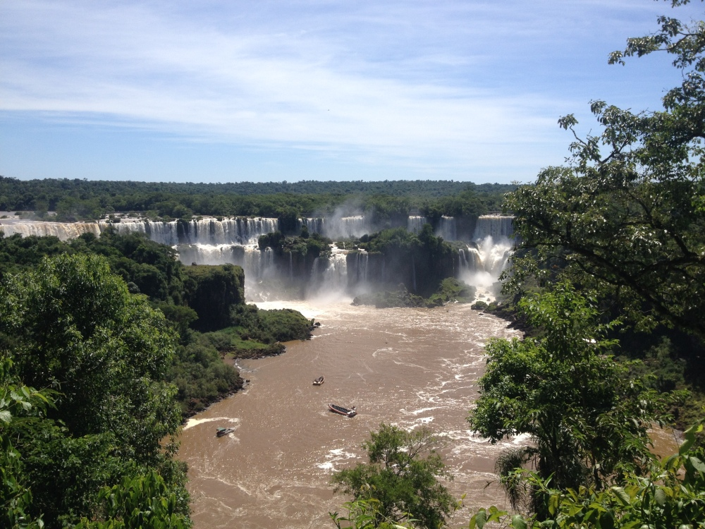 Rio Iguazú in Argentinien