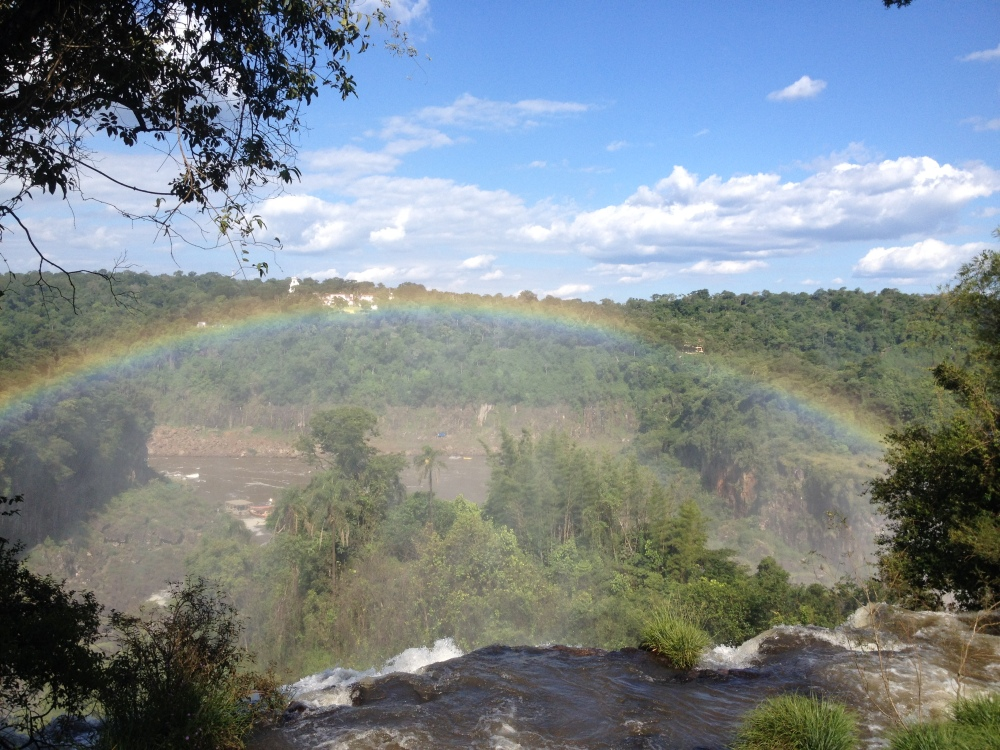 Regenbögen Iguazu