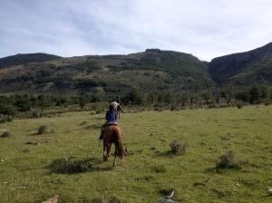 Ausritt in Patagonien