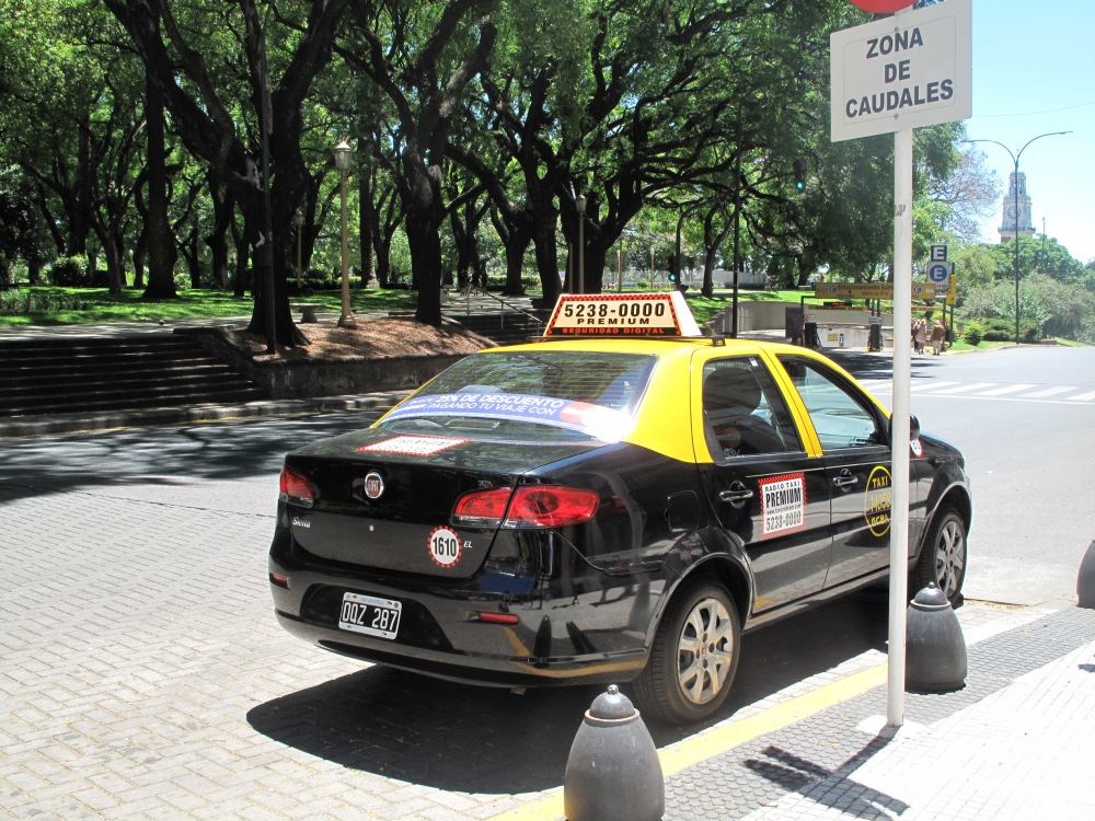 Radio-Taxi in Buenos Aires